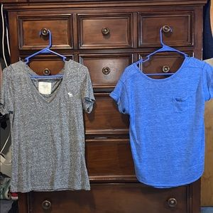 2 Abercrombie & Fitch Shirts